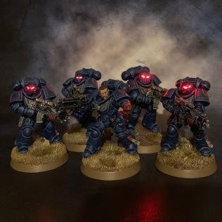 Intercessor Second Squad Dark